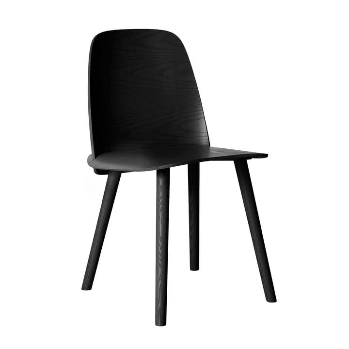 Nerd Chair by Muuto in black