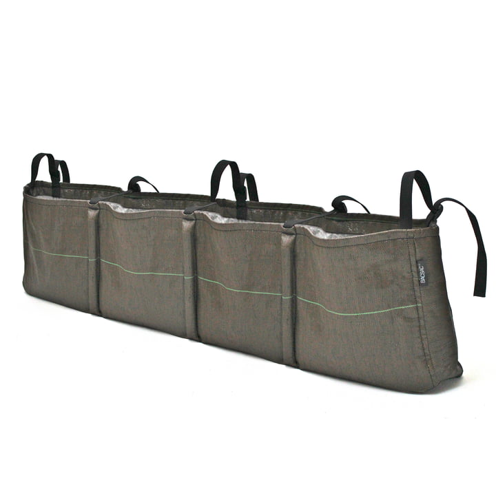 Hanging Window Box Plant bag 4, 36 l / Geotextile from Bacsac