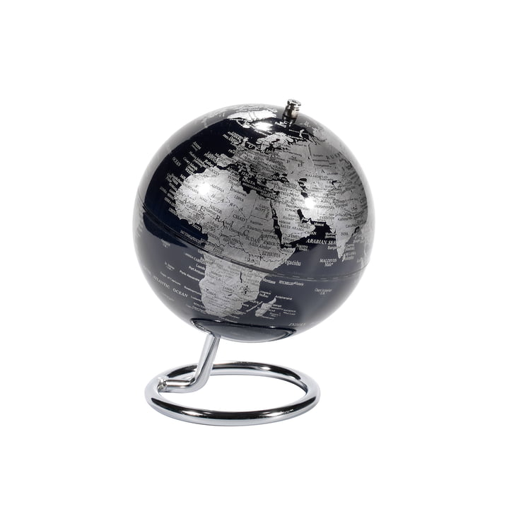 emform - Mini Globe, black