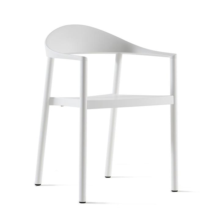 Plank - Monza chair, white / white