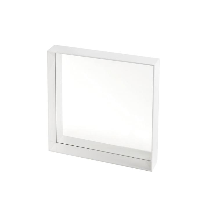 Kartell - Only Me Mirror, 50 x 50 cm, white