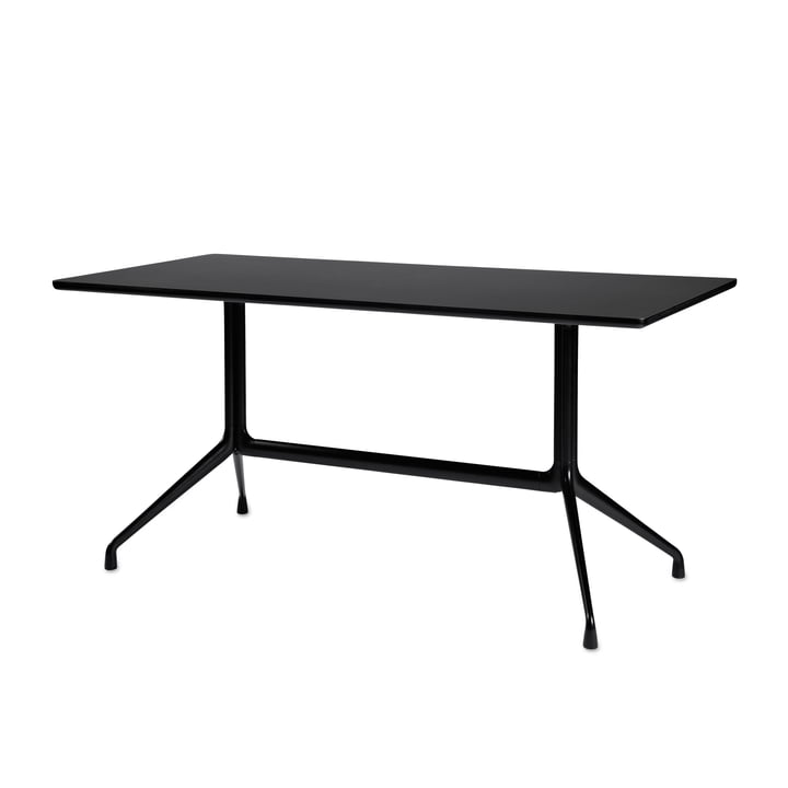 Hay - About A Table AAT 10 dining table, black