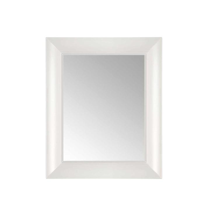 Kartell - François Ghost Mirror, small, white - front