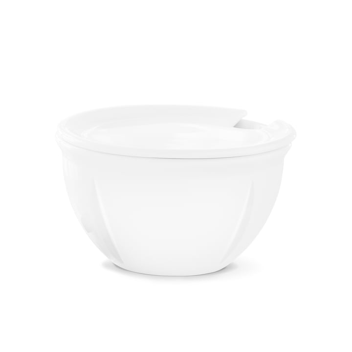 Rosendahl - Grand Cru Soft Sugar Bowl with Lid, white