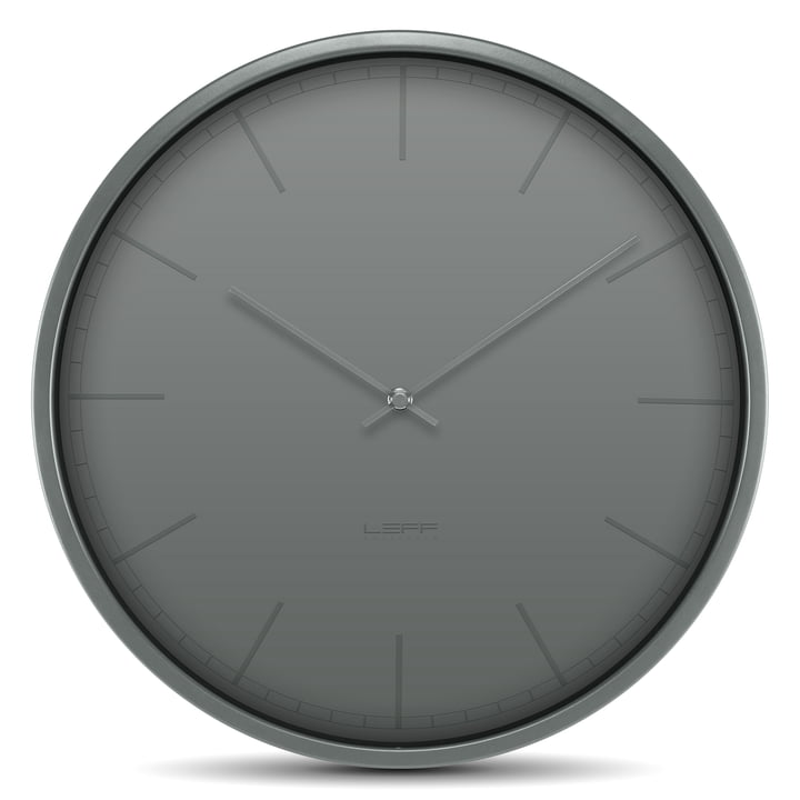 the tone 35 wall clock by leff amsterdam. Black Bedroom Furniture Sets. Home Design Ideas