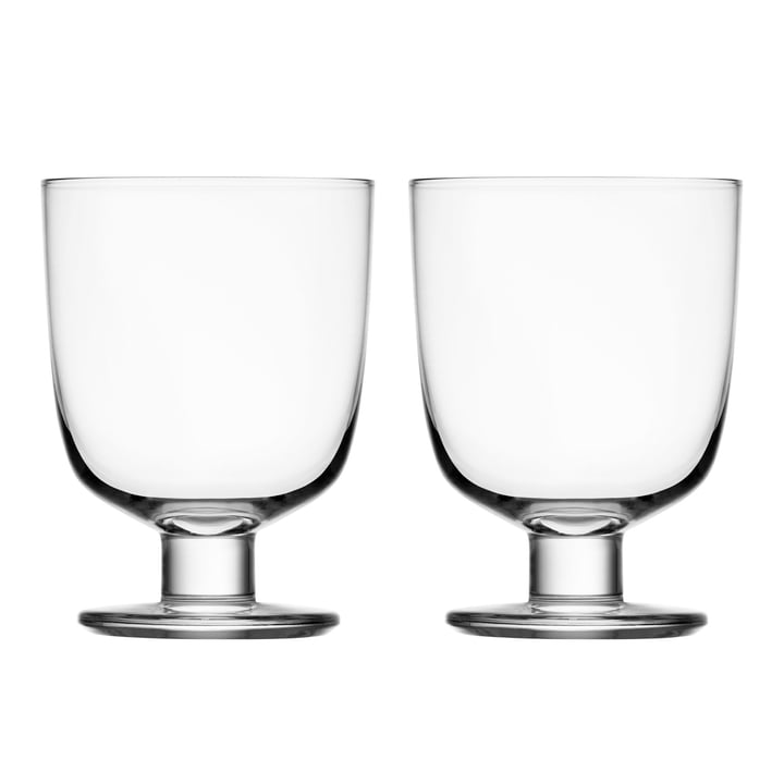 Lempi Glass 34 cl (Set of 2) from Iittala in clear