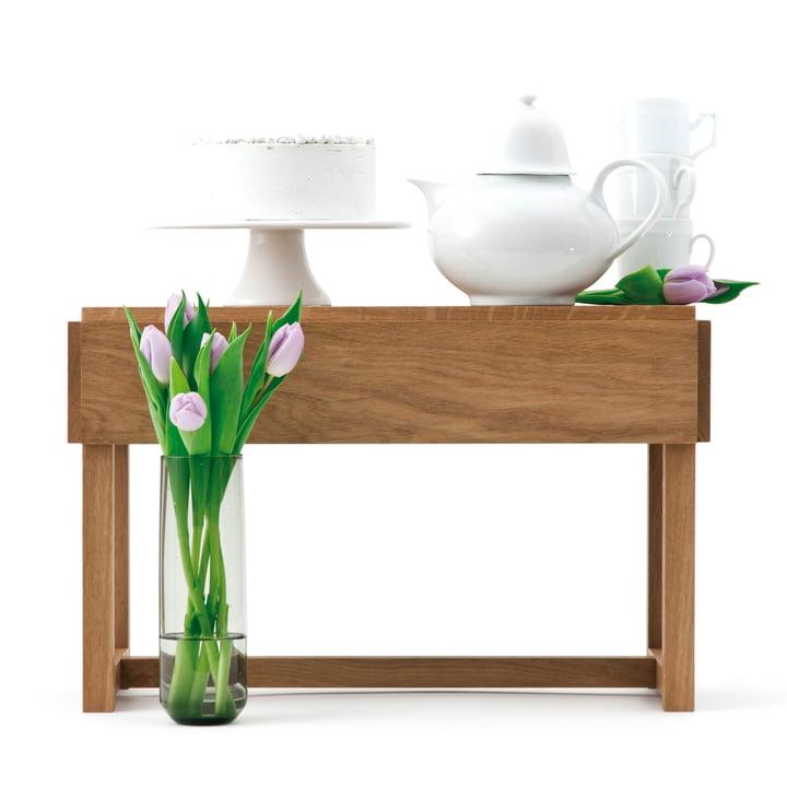 Design im Dorf - Bench and more, oak - tea service