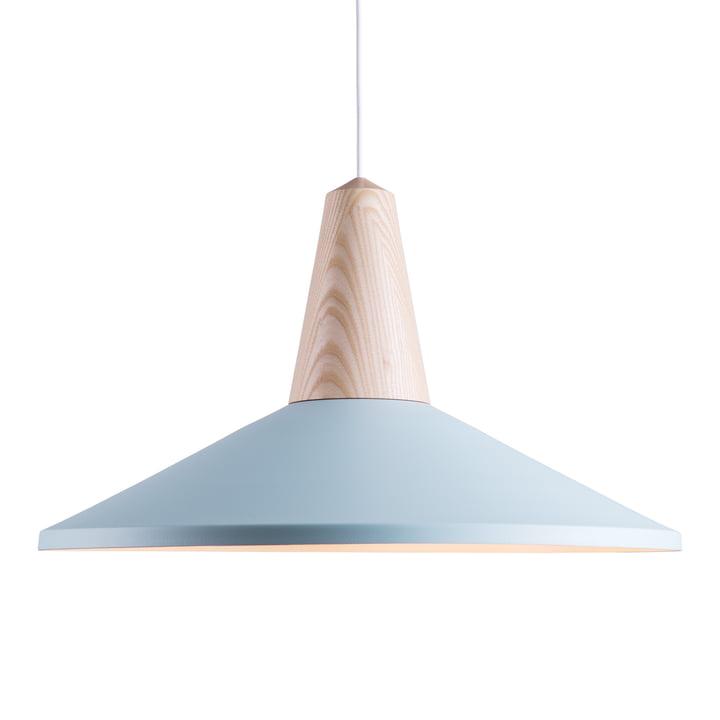 Schneid - Eikon Shell pendant lamp, blue