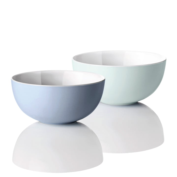 Stelton - Emma Bowls, blue, Set of 2