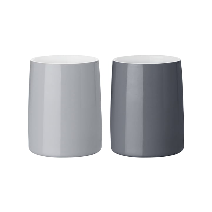 Stelton - Emma Thermo Mugs 0.25 l, grey (set of 2)