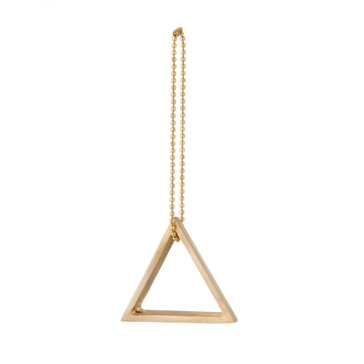 ferm Living - Brass Ornament, triangle