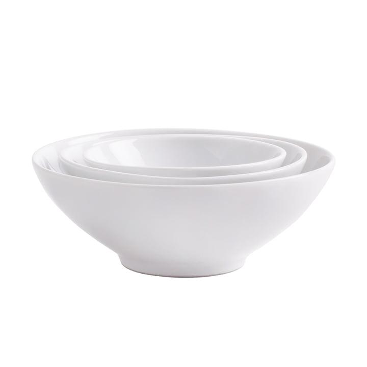Kahla - Magic Grip Bowl Set, 3 pieces, white