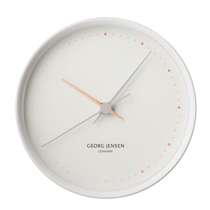 Georg Jensen - Henning Koppel Wall Clock Graphic Ø 22 cm, white