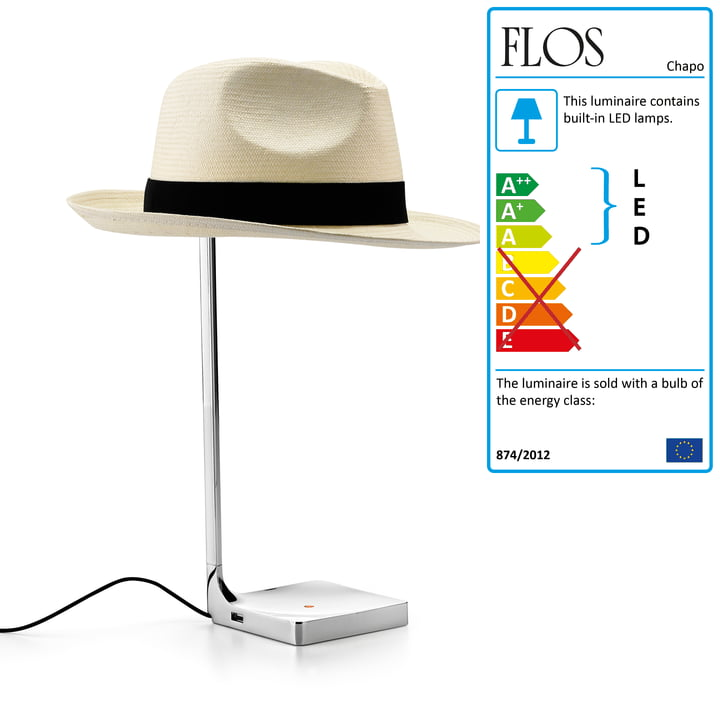 Flos - Chapo Table Lamp 02, switched off