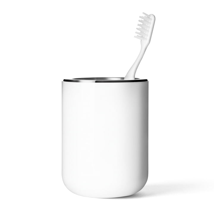 Menu - Norm Bath Toothbrush Tumbler, white