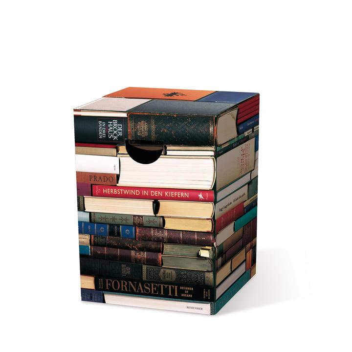 Remember - The Ingenious Cardboard Stool, bookworm