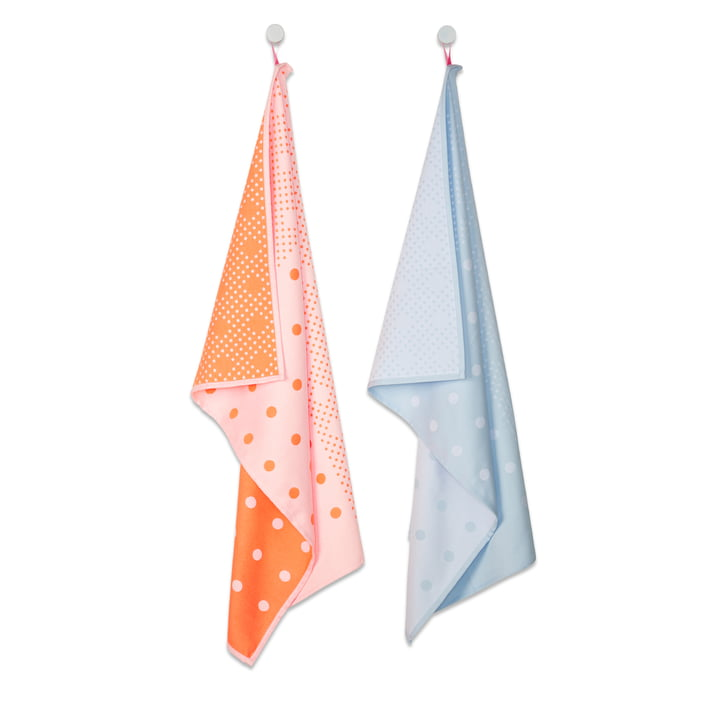 Hay - S&B Tea Towels, set of 2, Big Dots