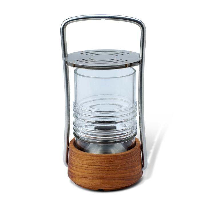 Skagerak - Bollard Oil lamp, teak wood