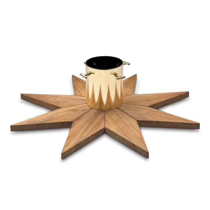 Skagerak - Christmas Tree Base, teak wood