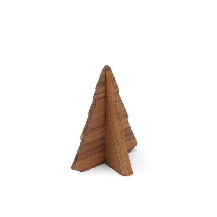 Skagerak - Spruce Tree, 9cm, teak