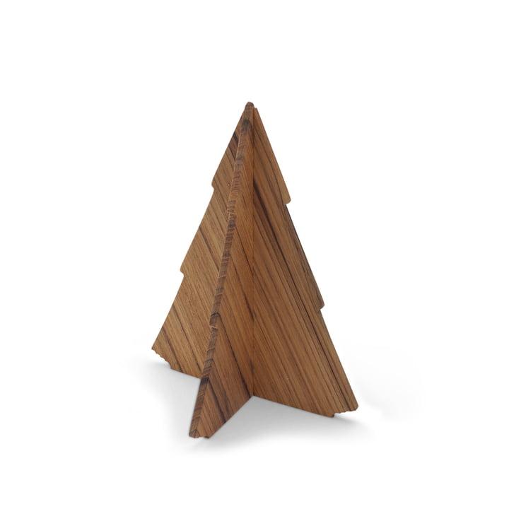 Skagerak - Spruce Tree, 13cm, teak wood