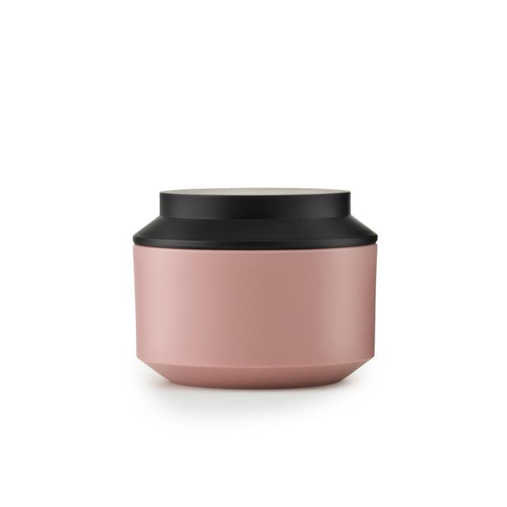 Normann Copenhagen - Geo Jar, blush / black Ø 10 cm