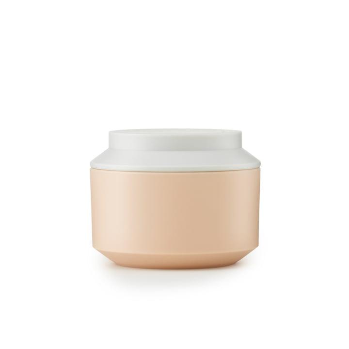 Normann Copenhagen - Geo Jar, nude / frost Ø 10 cm