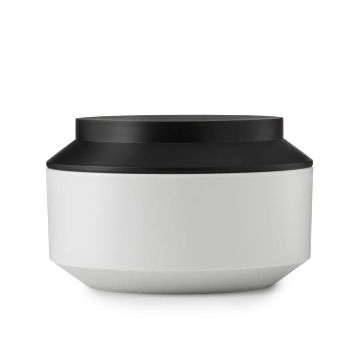 Normann Copenhagen - Geo Jar, frost / black Ø 15 cm
