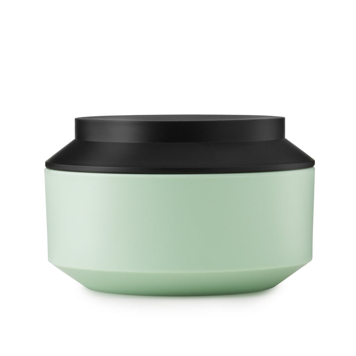 Normann Copenhagen - Geo Jar, mint / black Ø 15 cm