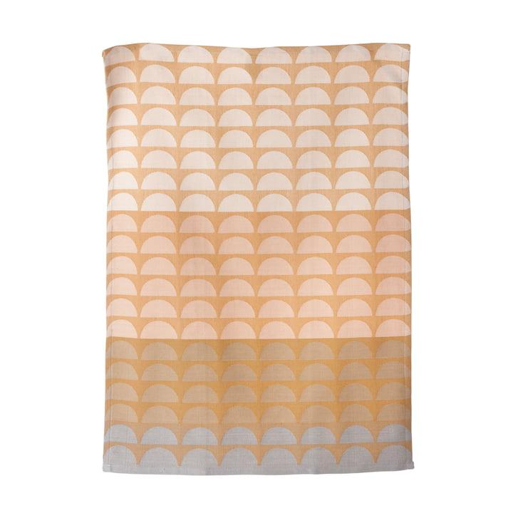 ferm living - Bridges tea towel, rose, 50 x 70 cm