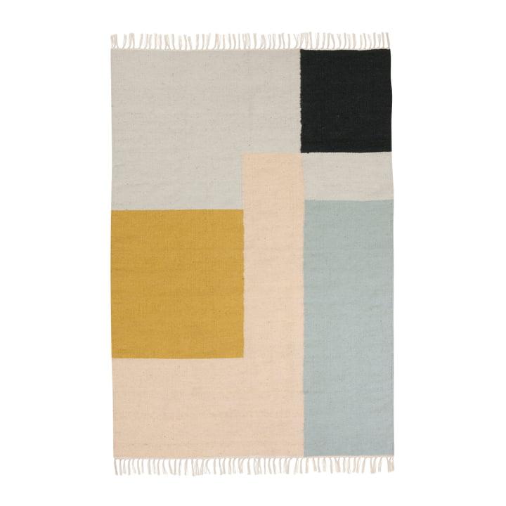 ferm living - Kelim Rug, squares, large