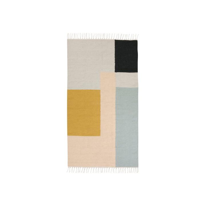 ferm living - Kelim Rug, squares, small