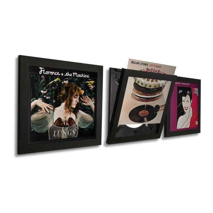 Art Vinyl - Flip Frame set of 3, black