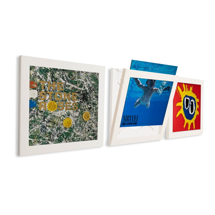 Art Vinyl - Flip Frame set of 3, white