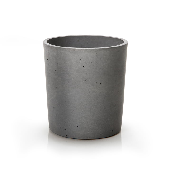 spicepot 13 from urbanature in concrete grey