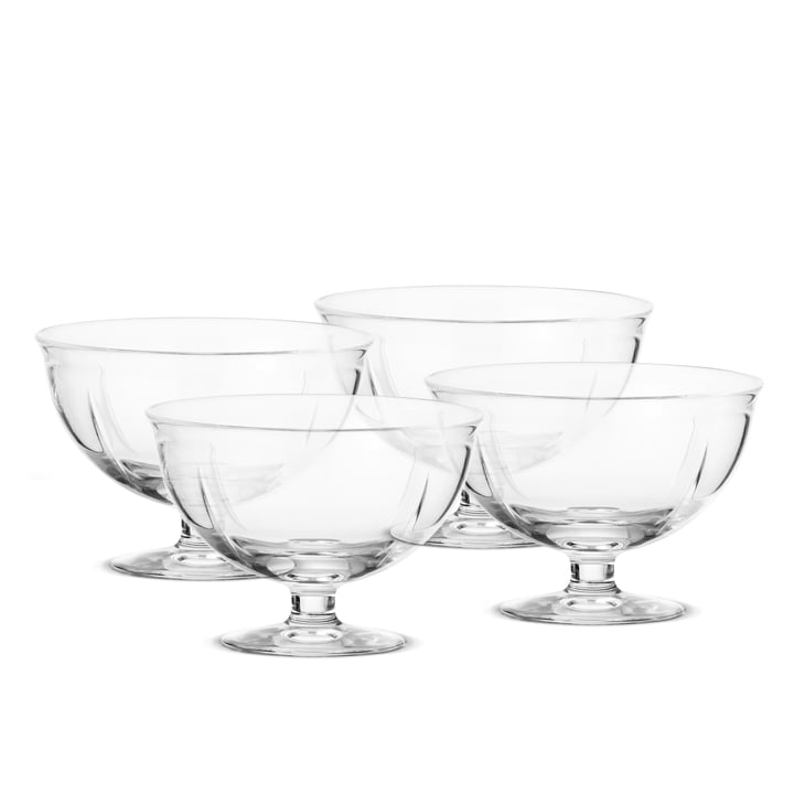 Rosendahl - Grand Cru Soft Bowl with Base, set of 4