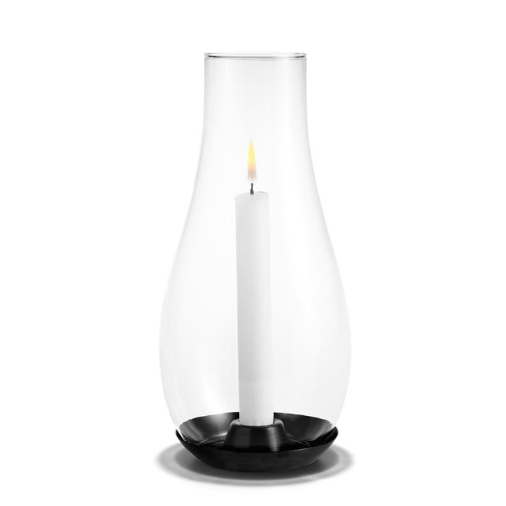 Holmegaard - Design with light candleholder, transparent