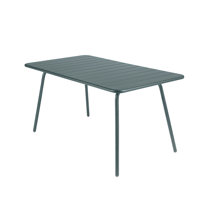 Fermob - Luxembourg Table 80 x 143 cm, storm grey