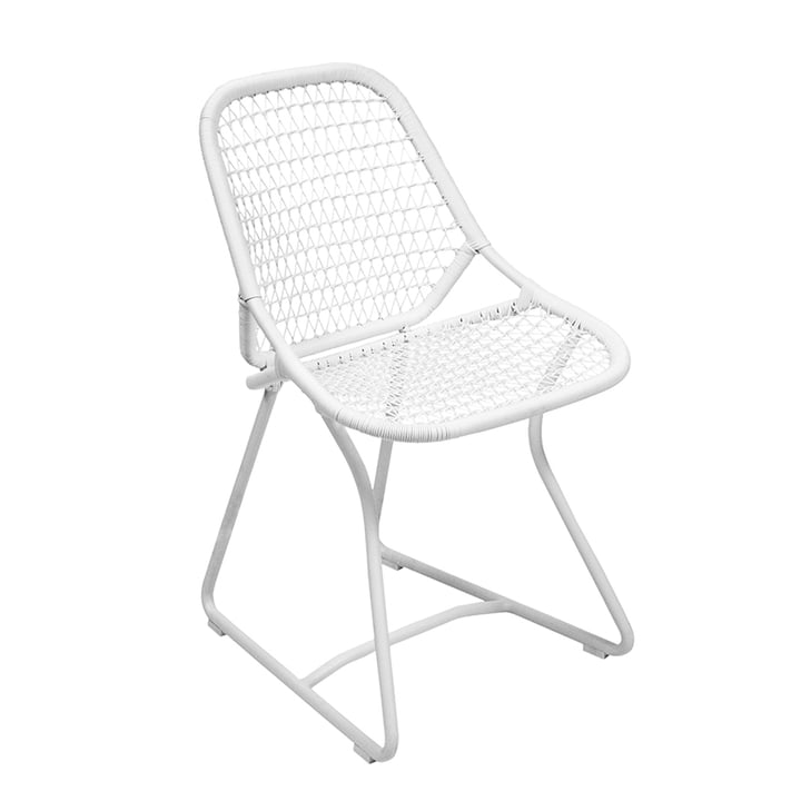 Sixties Chair by Fermob in cotton white
