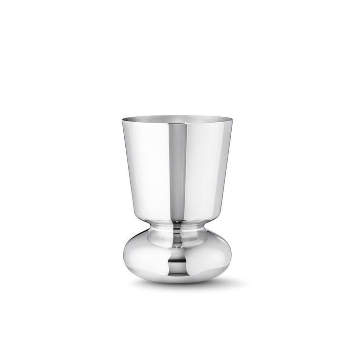 Georg Jensen - Alfredo Vase 220, stainless steel