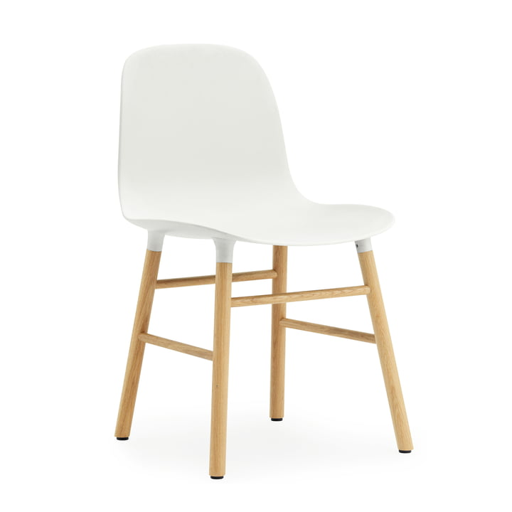 Normann Copenhagen - Form Chair, white / oak