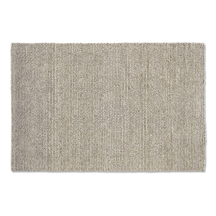 Peas carpet 200 x 300 cm from Hay in soft grey