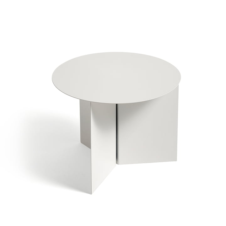 Hay - Slit Table Round, white