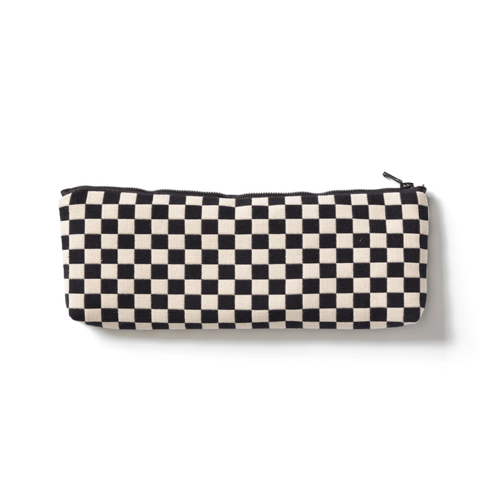 Vitra - Zip Pouch, black / white, small