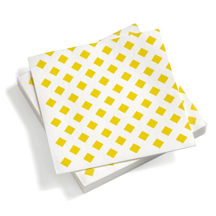 Vitra - Paper Napkins large, La Fonda Checks yellow
