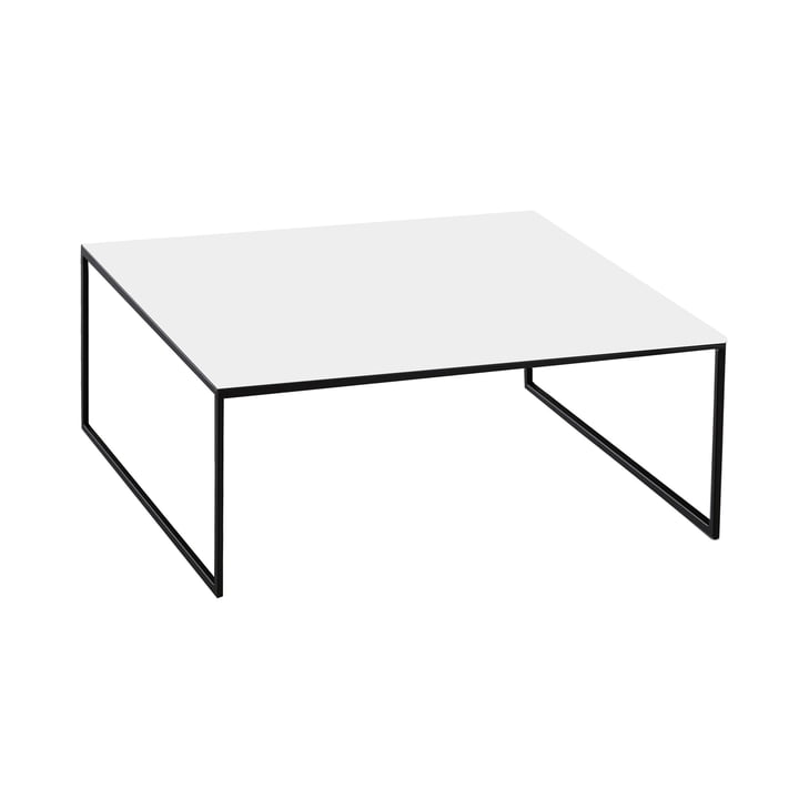 Less H 15/2 coffee table by Hans Hansen in white