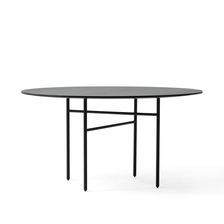 Menu - Snaregade Table, Round, Black Veneer