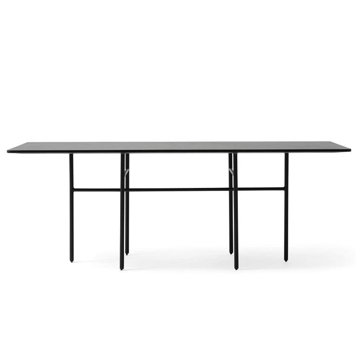 Menu - Snaregade Table, Rectangular, Black Veneer
