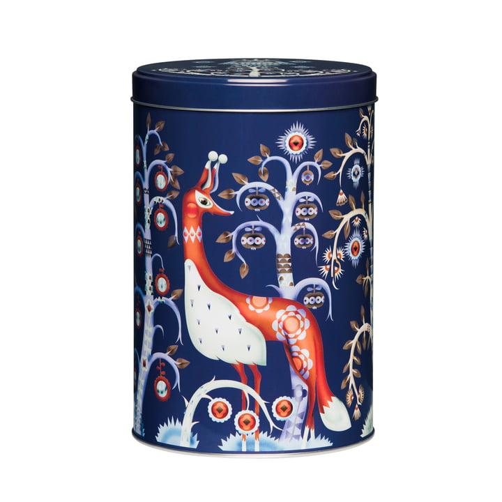 iittala - Taika Metal Boxes, round, blue