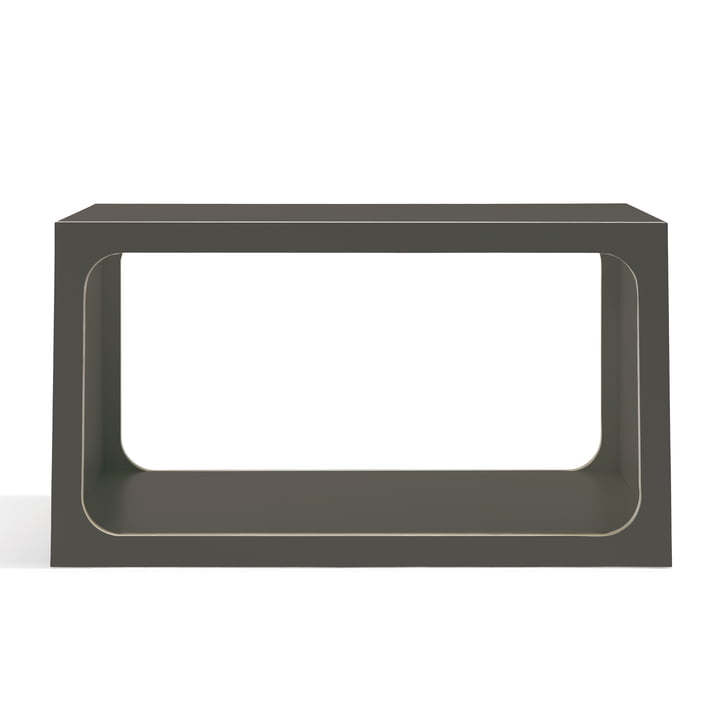 Müller Möbelwerkstätten - Boxit stapable Shelf Module, anthracite